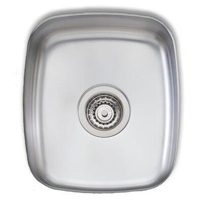 Adelaide 16 x 13.75 Single Bowl Kitchen Sink