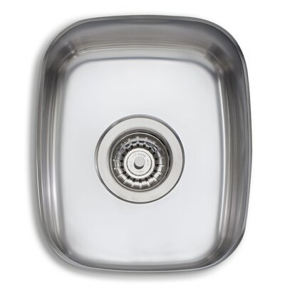 Adelaide 13.75 x 13.75 Single Bowl Kitchen Sink