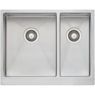 Apron 21 x 27 Double Bowl Kitchen Sink