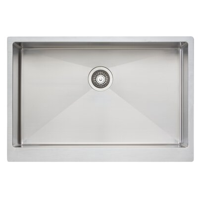 33 x 21 Large Single Bowl Kitchen Sink