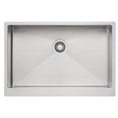 33 x 21 Large Single Bowl Kitchen Sink