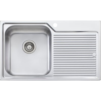 Canberra 32.25 x 19.75 Single Bowl Kitchen Sink