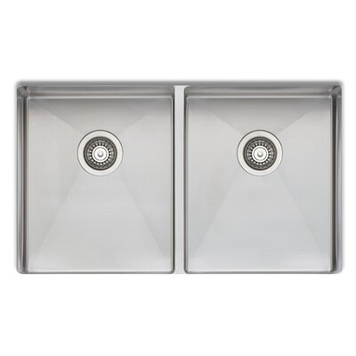 Professional 33 x 20 Double Bowl Kitchen Sink