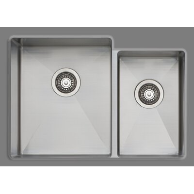 Professional 28 x 20 Double Bowl Kitchen Sink