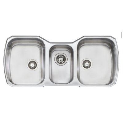 Melbourne 42 x 20 Triple Bowl Kitchen Sink