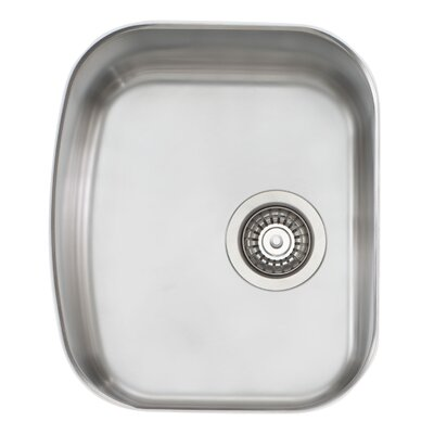 Melbourne 17.75 x 15 Single Bowl Kitchen Sink
