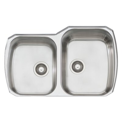 Melbourne 33 x 22 Double Bowl Kitchen Sink