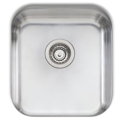 Melbourne 17.75 x 16.13 Single Bowl Kitchen Sink