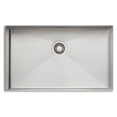 Sonetto 32 x 18 Mega Single Bowl Kitchen Sink