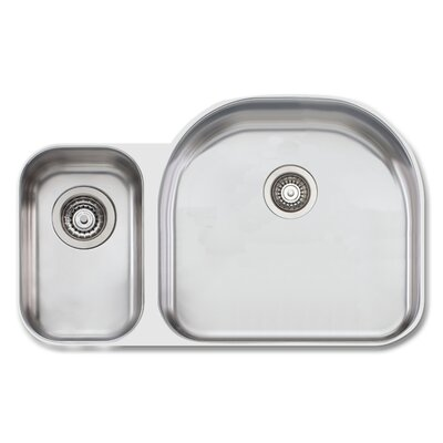 Sydney 32.75 x 20.88 Double Bowl Kitchen Sink