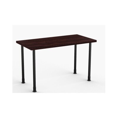 Allegro Training Table Tabletop Finish: Espresso, Size: 24 x 48