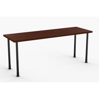 Allegro Training Table Tabletop Finish: Mahogany, Size: 24 x 72