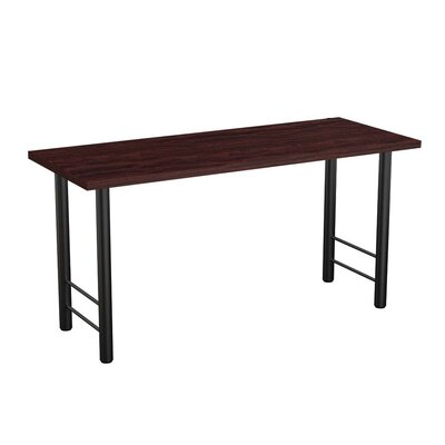 Panache Training Table Tabletop Finish: Espresso, Size: 72 W x 24 D
