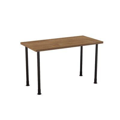 Allegro Training Table Tabletop Finish: Burnished Teak, Size: 24 x 48