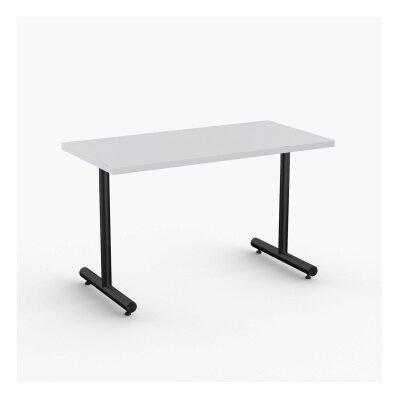 Aris Training Table Tabletop Finish: Light Gray, Size: 29 H x 48 W x 24 D