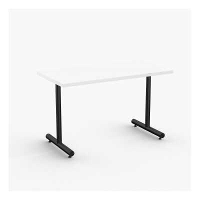 Aris Training Table Tabletop Finish: White, Size: 29 H x 60 W x 24 D