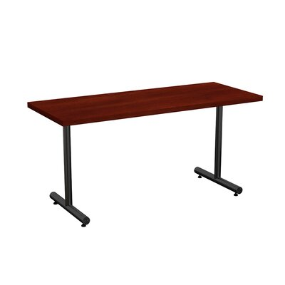 Aris Training Table Tabletop Finish: Cherry, Size: 29 H x 72 W x 24 D