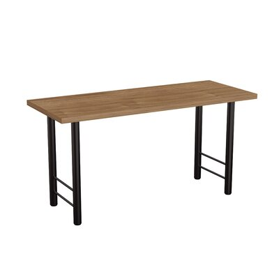 Panache Training Table Tabletop Finish: Burnished Teak, Size: 72 W x 24 D