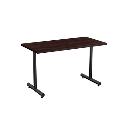 Aris Training Table Tabletop Finish: Espresso, Size: 24 x 60