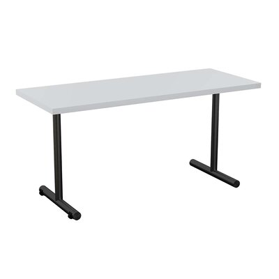 Sola Training Table Tabletop Finish: Light Gray, Size: 24 H x 48 W