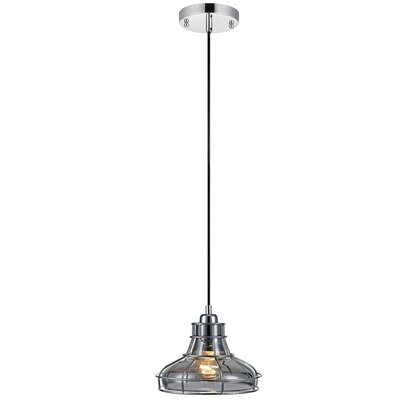 Illusione 1-Light Mini Pendant Finish: Chrome