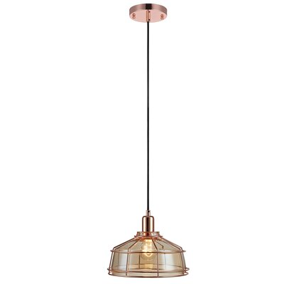 Presenza 1-Light Mini Pendant Finish: Rose Gold
