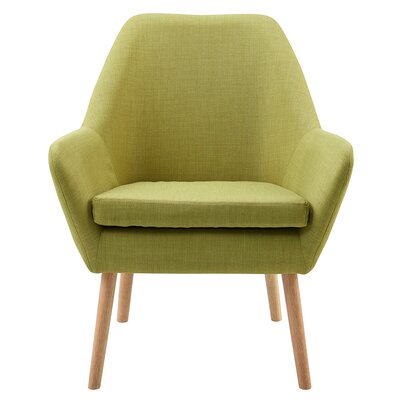 Divano Armchair Upholstery: Lime Green