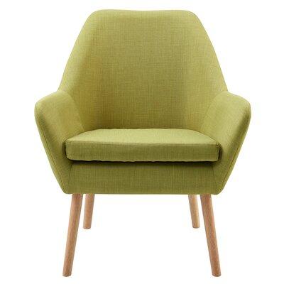 Divano Armchair Upholstery: Lime Green