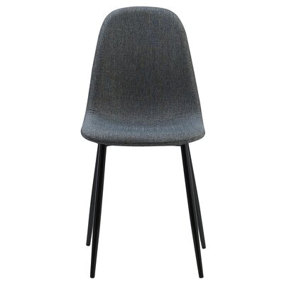 Minimalista Upholstered Dining Chair Upholstery Color: Dark Gray