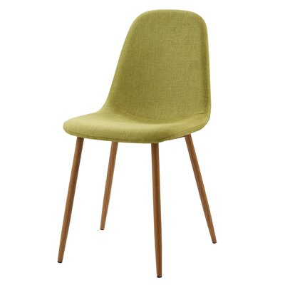 Minimalista Upholstered Dining Chair Upholstery Color: Lime Green