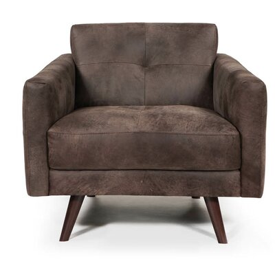 Gary Armchair Finish: Dark Brown