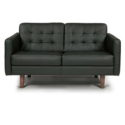 Venere Leather Loveseat