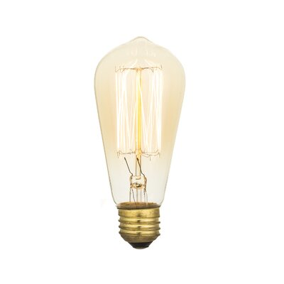 Edison 40W Incandescent Vintage Filament Light Bulb