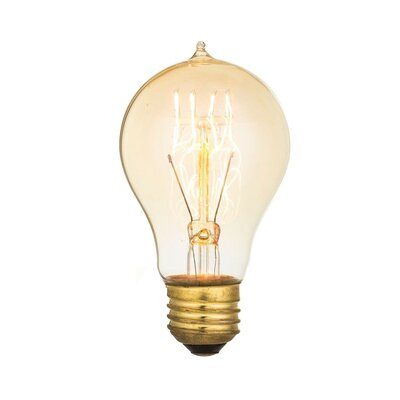 40W E26 Incandescent Vintage Filament Light Bulb