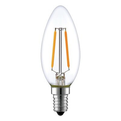2W E26 LED Vintage Filament Light Bulb