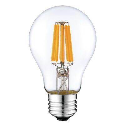 8W E26 LED Vintage Filament Light Bulb