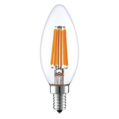 6W E12 LED Vintage Filament Light Bulb