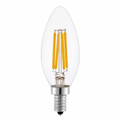 4W E12 LED Vintage Filament Light Bulb