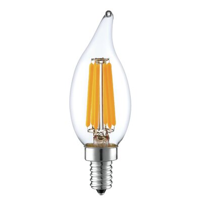 6W E12 LED Vintage Filament Light Bulb