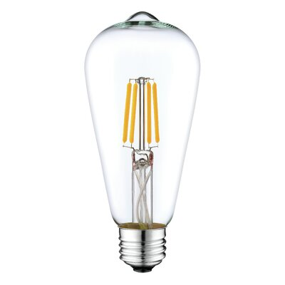 4W E26 LED Vintage Filament Light Bulb