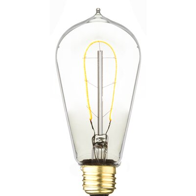 3W E26 LED Vintage Filament Light Bulb