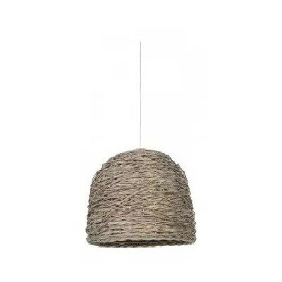 Aguon Basket Woven 1-Light Flush Mount