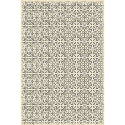 Cousar Quad European Design Gray/Beige Indoor/Outdoor Area Rug Rug Size: Rectangle 4 x 6