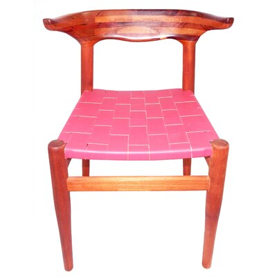 Cacho Side Chair Upholstery: Pink