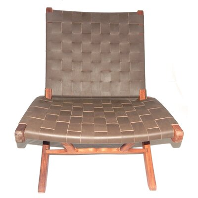 Willow Lounge Chair Upholstery: Brown