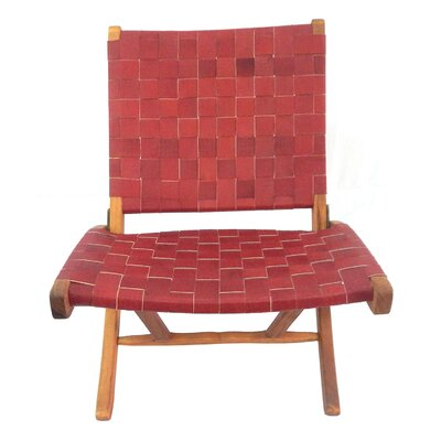 Willow Side Chair Upholstery: Red