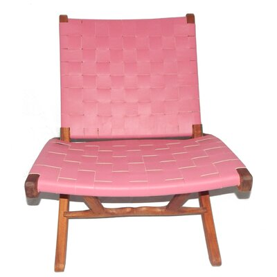 Willow Lounge Chair Upholstery: Pink
