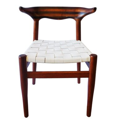Cacho Side Chair Upholstery: White