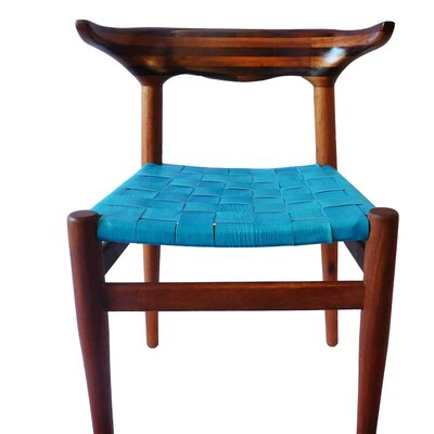 Cacho Side Chair Upholstery: Blue