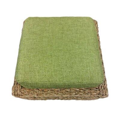 Mimbre Ottoman Upholstery: Green